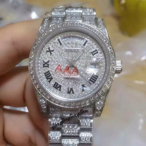 Get Free Rolex Replica Fully Buss Down VVS lab diamonds