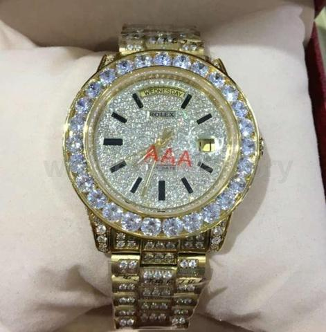 VVS LAB DIAMOND ICY BUSS DOWN ROLEX REP