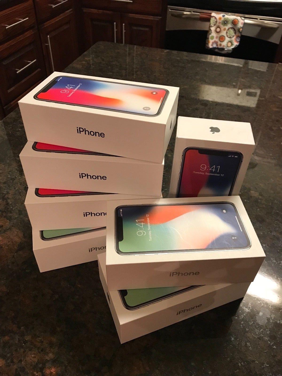 New sealed box factory unlocked Apple IPhone X 256GB