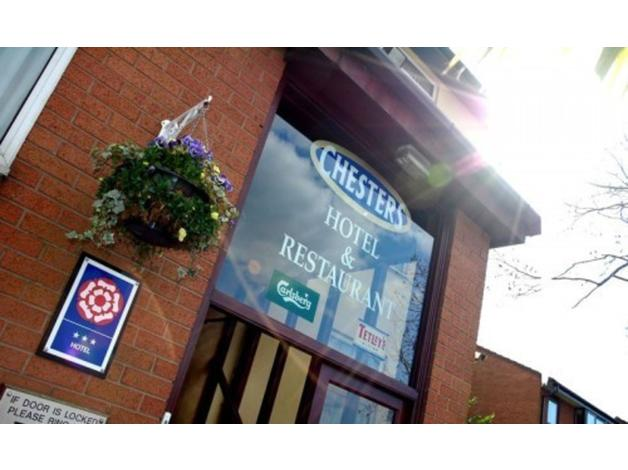 Parking at Chesters Hotel. Book via KERB Parking.