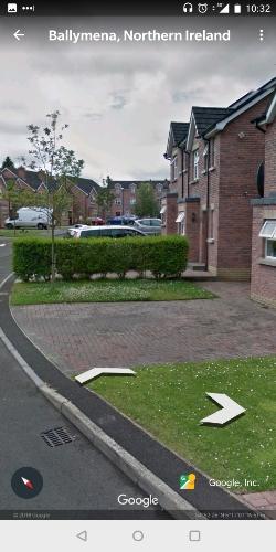 Parking in Ballymena, near town centre. Book via KERB Parking.