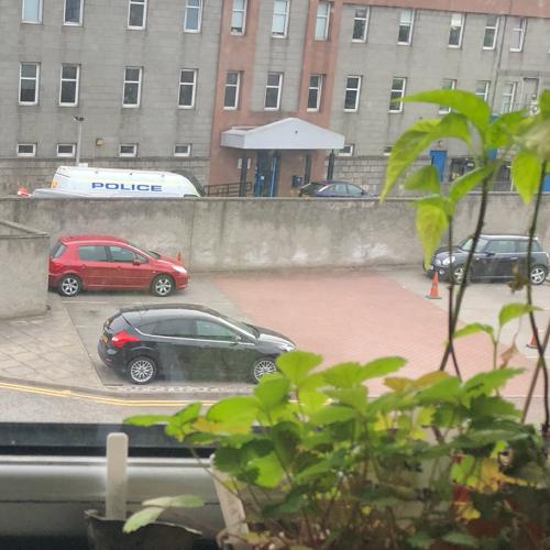 Parking near Aberdeen Uni. Book via KERB Parking.