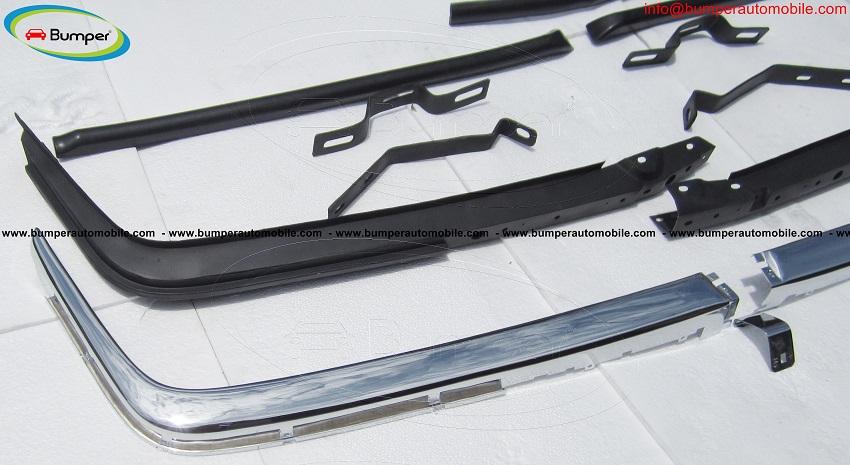 Mercedes SL W107 bumper stainless steel ( 280SL, 380SL, 450SL, R107, C107)