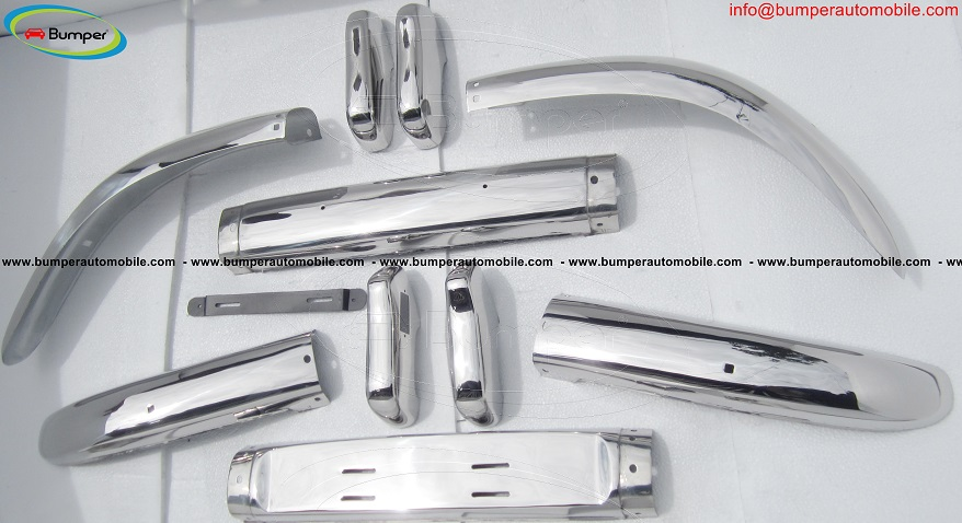 Volvo PV 544 bumper (1958 – 1965) by stainless steel