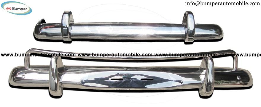 Volvo Amazon US bumper (1956-1970) stainless steel