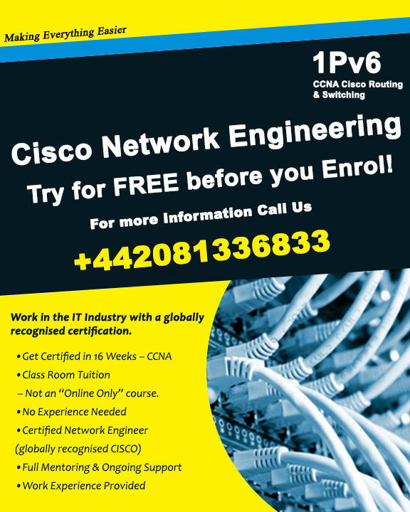 Looking for free CCNA course to enhance your career? Here we provide it at 1Pv6