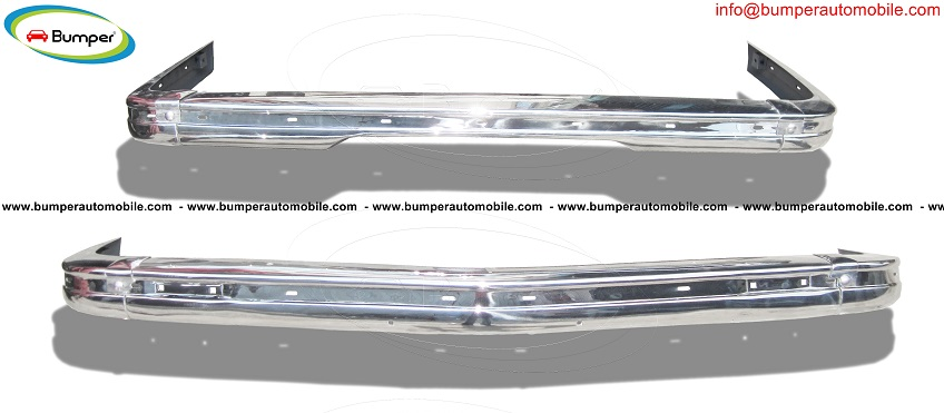BMW E21 bumper kit new (1975 – 1983) by stainless steel