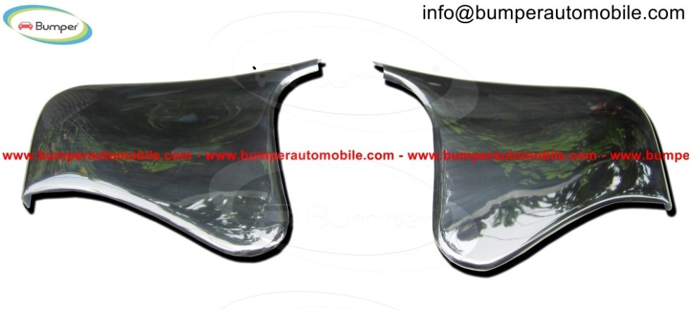 Mercedes W190SL Stone Guards bumper (1955-1963) stainless steel