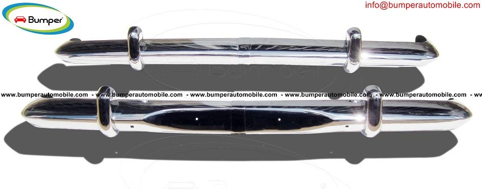 Opel Rekord P2 bumper kit new ( 1960-1963) stainless steel