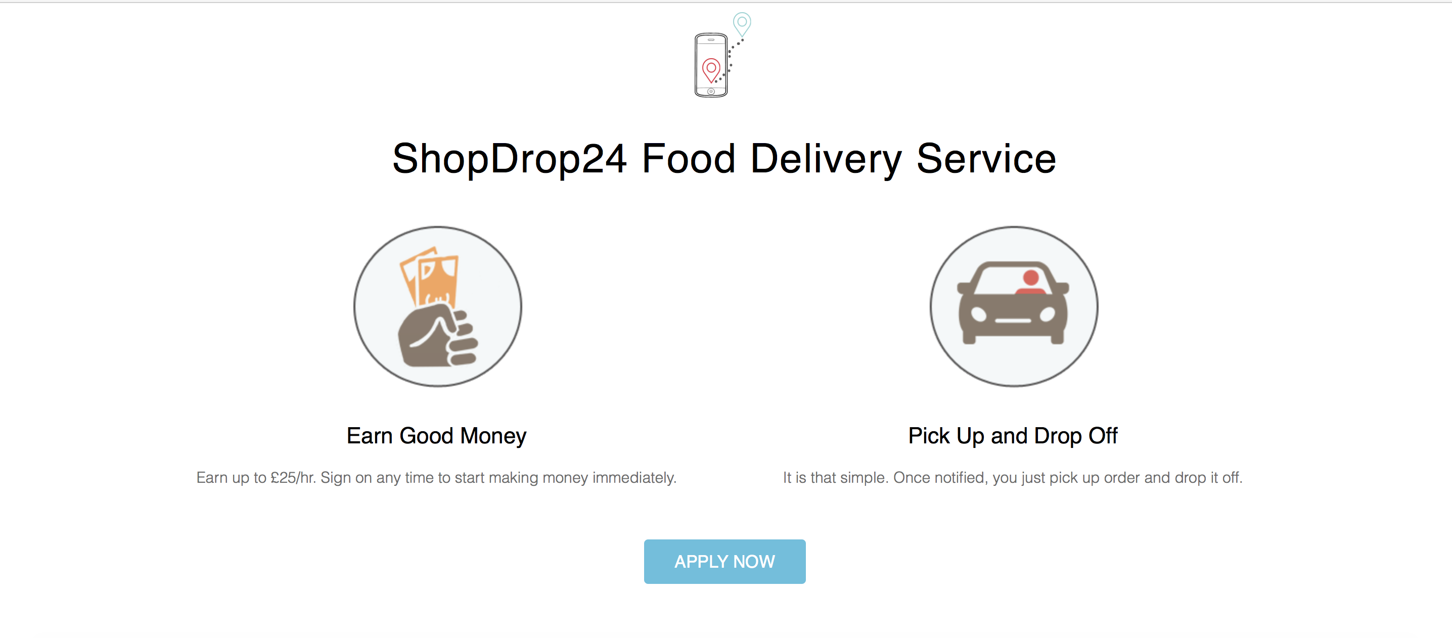 Grocery DELIVERY DRIVER WANTED – £25PH