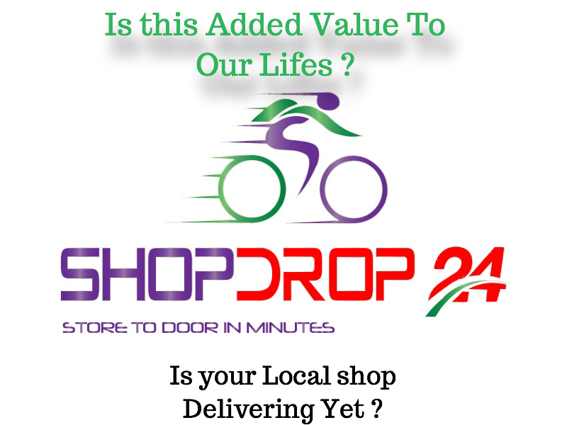 New 'ShopDrop24' – OnDemand Grocery Deliveries in Minutes