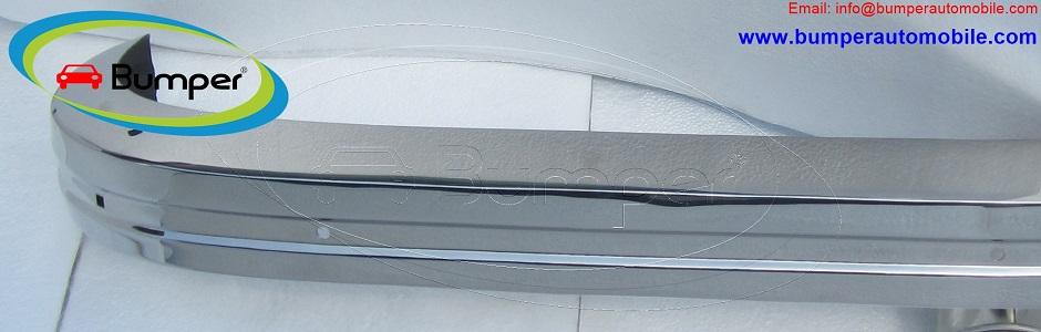 VW Karmann Ghia bumper type (1972-1974) stainless steel