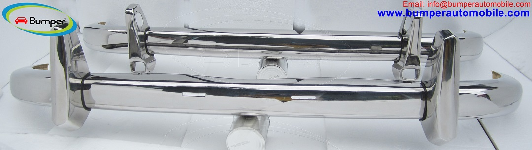 Mercedes Ponton 220S bumper kit ( 1954-1960 ) stainless steel