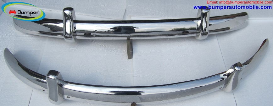 VW Beetle Euro style bumper (1955-1972) stainless steel