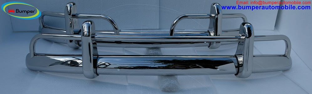 VW Beetle bumper USA style (1955-1972) by stainless steel