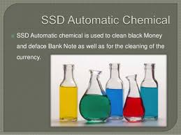 SELLING SSD SOLUTION FOR CLEANING BLACK MONEY NOTES AND DEFACE NOTES