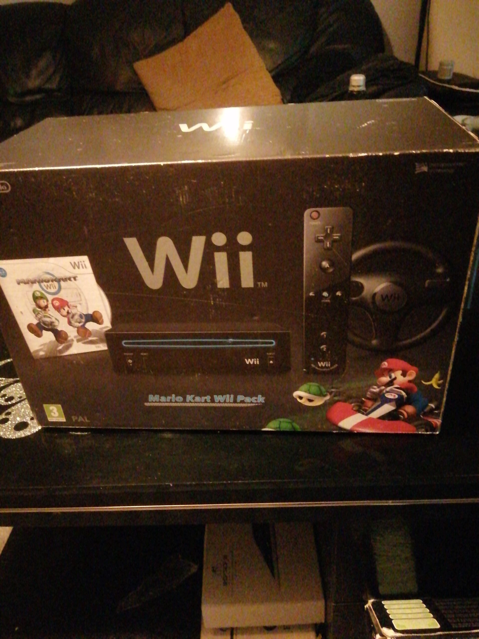 Mario Cart Wii Package